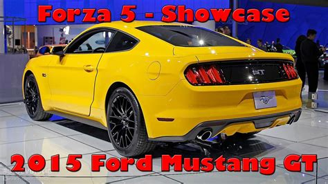 Forza Ford Mustang Forzavista Top Speed Run