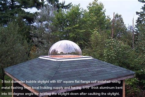 dome skylights manufactured  ez tops