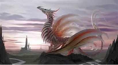 Dragon 4k Fantasy Wallpapers Digital Backgrounds Desktop