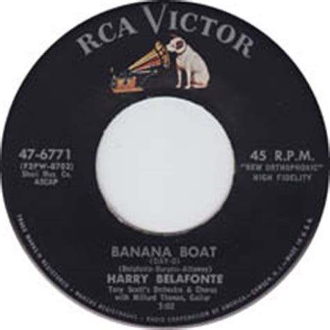 Small Boat Song by Harry Belafonte Day O Daily Doo Wop