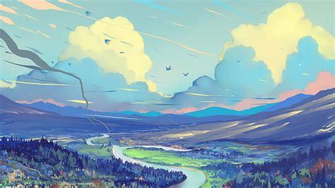 HD wallpaper: digital art, digital painting, fantasy art ...