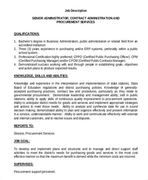 purchasing officer description 17 fields related to