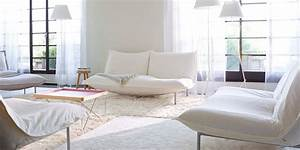 Canap Blanc Notre Shopping Compltement Design Marie