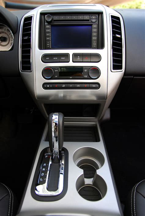 ford edge center console picture pic image