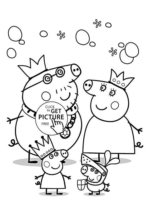 Smart Idea Peppa Pig Coloring Pages Printable Pretty