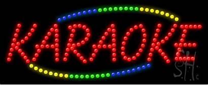 Karaoke Sign Led Animated Neon Signs Entertainment