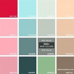 Code Couleur Pantone : 500 web colors vale design pantone hex rvb cmjn graphisme inspiration couleur couleur ~ Dallasstarsshop.com Idées de Décoration