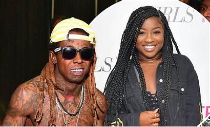 Lil Wayne Reginae Carter Dad Daughter Side