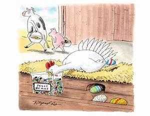 One Dozen Funny Easter Cartoons