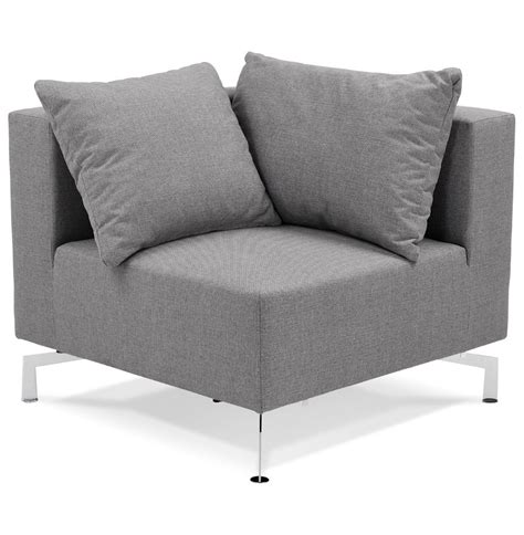 canap voltaire coin de canapé voltaire corner gris canapé modulable