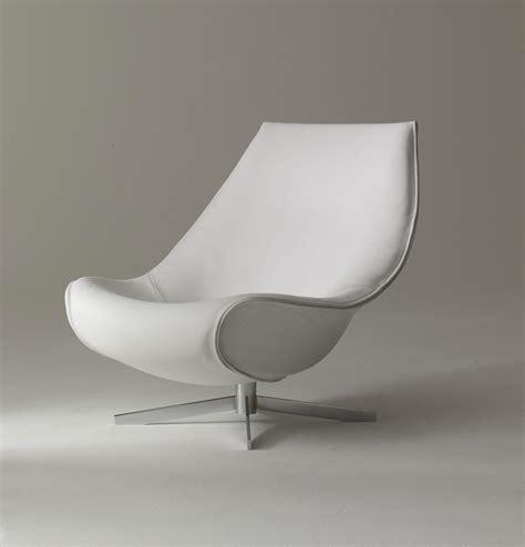 oyster fauteuil pivotant en cuir vente en ligne italy design