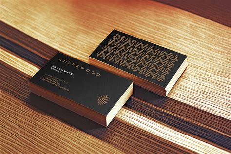 anthewood furniture business card inspiration cardfaves