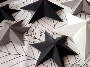 Papiersterne Falten Anleitung Kostenlos : ganz einfache 3d sterne falten strickpraxis ~ Buech-reservation.com Haus und Dekorationen