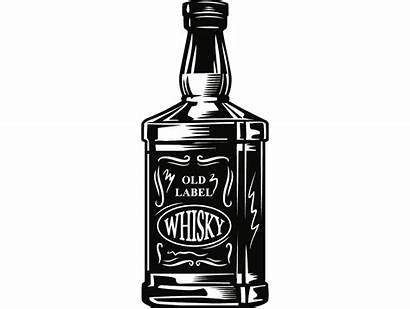 Whiskey Bottle Svg Liquor Alcohol Drink Drinking