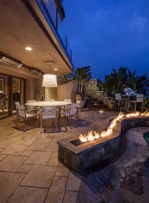 backyard gas fire pit ideas