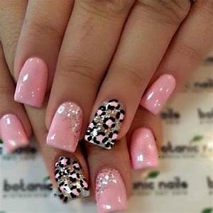 Pink leopard nails:your dare is to create these nails ...