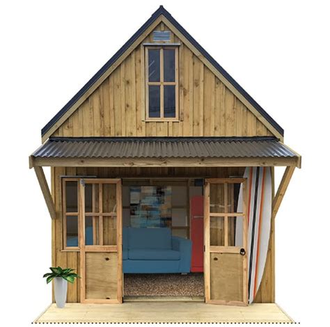 shed with sleeping loft sanders nz made cabins sleep outs garden sheds