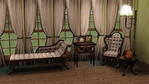 Mod The Sims Victorian Gothic Parlor Set