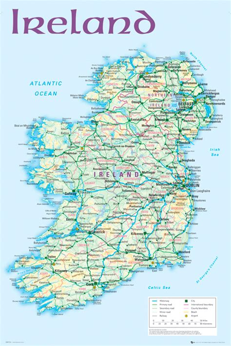 map  ireland map  ireland irish