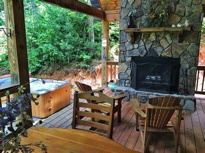 carolina cabins with tubs 2br cabin vacation rental in bryson city carolina