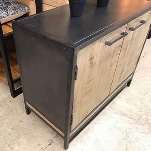 Buffet Metal Et Bois : salle manger style industriel ~ Melissatoandfro.com Idées de Décoration