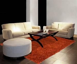 tapis salon orange 1 idees de decoration interieure With tapis orange salon