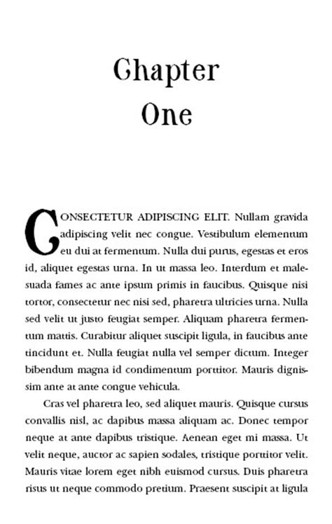 The 8 brilliant fonts you NEED to use in your book layout (with type combinations and samples