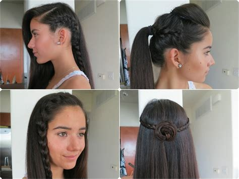 5 Easy Braided Hairstyles For Summer 2013 !!!! Youtube