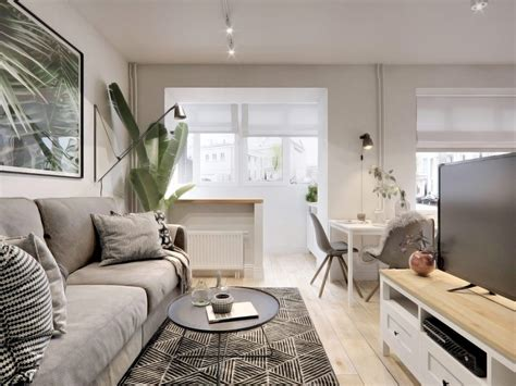 Small Spaces A 40 Square Meter 430 Square Apartment Visualization by Managing With Less 3 Small Homes 40 Square Meters