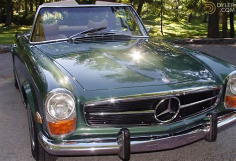 Since 1975 it has been with the same owner. Classic 1970 Mercedes-Benz 280 SL Pagoda for Sale | Dyler