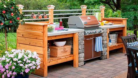cheap outdoor kitchen ideas 31 amazing outdoor kitchen ideas planted well