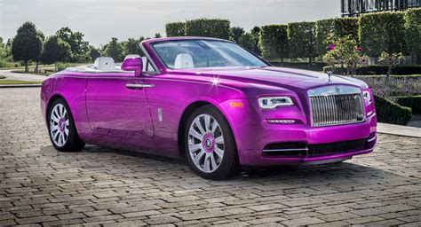 Rolls-royce Dawn Matches Michael Fux's Pink 720s
