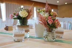 Table Mariage Champetre : bouquet champetre centre de table ~ Melissatoandfro.com Idées de Décoration