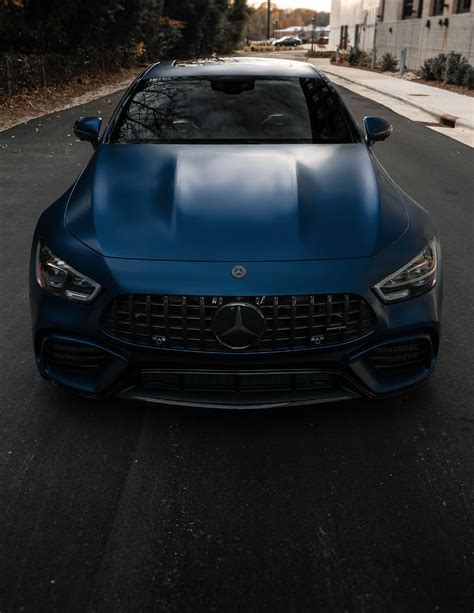 Mercedes hasn't detailed any changes to the 2021 gt c and gt r engines, but in the previous model year, they made 550 and 577 horsepower, respectively. 2019 AMG GT63S DESIGNO BRILLIANT BLUE MAGNO CARBON FIBER FULL CLEAR BRA BLACKED OUT - MBWorld ...