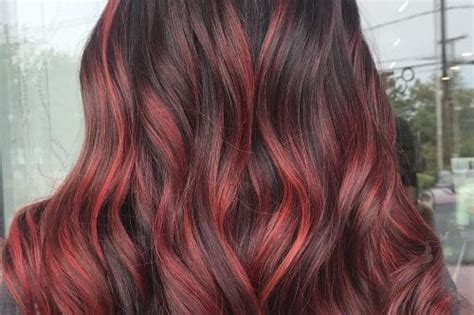 hair color chart shades  blonde brunette red black