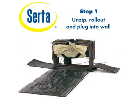 Serta Ez Bed by Serta Ez Bed With Never Flat