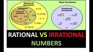 Diagram  Venn Diagrams Of Rational Vs Irrational Numbers