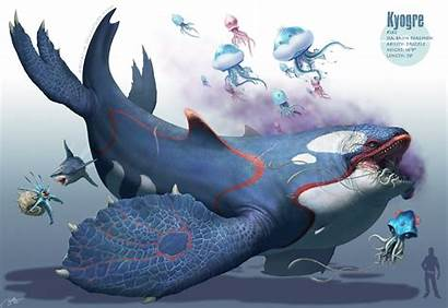 Pokemon Fish Giant Deep Murdering Roams Yes