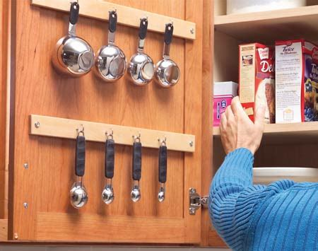 space saving solutions  mount  kitchen cabinet doors shelterness