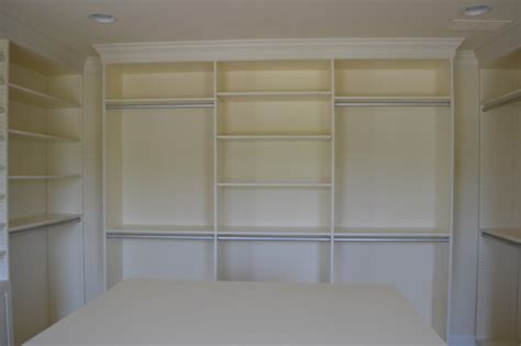 master closet floor to ceiling units traditional