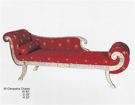 chaise spoon cleopatra chaise with chaise spoon