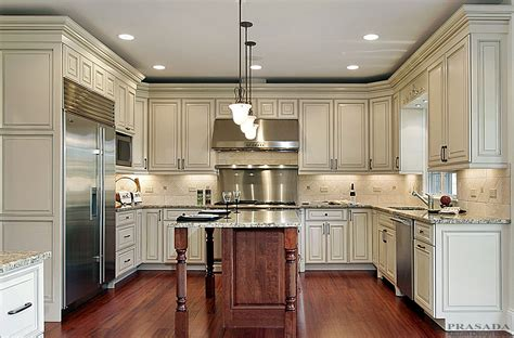 Kitchen Design Ideas  Prasada Kitchens And Fine Cabinetry. Kitchen Cabinets With Stainless Steel Appliances. White Flat Panel Kitchen Cabinets. Kitchen Cabinet Cost Per Linear Foot. Leveling Kitchen Cabinets