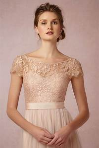new wedding dresses and bridesmaid dresses at bhldn With rose gold lace wedding dress