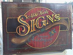 vintage sign kit hand lettered gold leaf illustrated With gold leaf lettering kit
