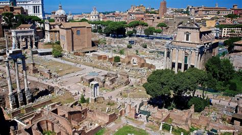 Pictures Of The Roman Forum, Rome Italy