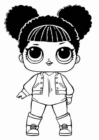 Lol Dolls Doll Coloring Surprise Pages Printable