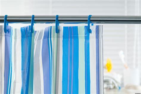 prevent mildew from growing on shower curtains with salt