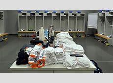 Real Madrid CF dressing room UEFA Champions League nav