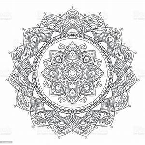 Mandala, Indian, Antistress, Medallion, Abstract, Islamic