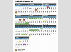 Calendario Escolar Curso 20172018